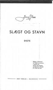 Jens Thise, Slægt og stavn