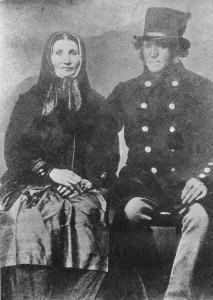 Kusk Niels Christensen og hustru Ane Margrethe Pedersdatter (Berits oldeforældre)