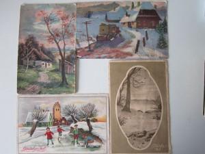 Julekort Anne-Marie Rasmussen omkring 1911