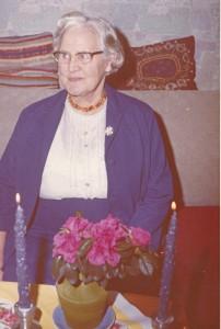Min Mormor Martha Frida Jensen