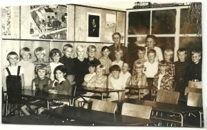 Skolebillede fra Vejby skole