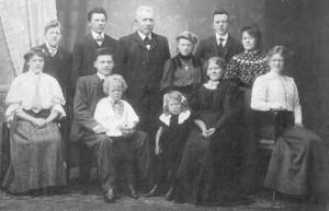 Familie fra Morild Tårs