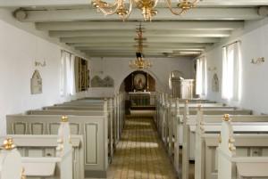 Råbjerg kirke inde