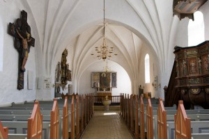 Vrensted kirke koret