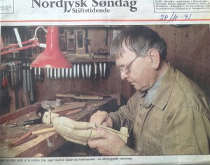 Gunnar Gade træskærer