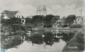 Kirkedammen ved Vrensted kirke