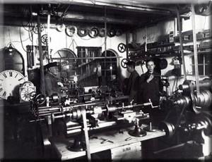 Tårnur fabrikation